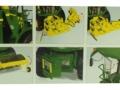 Wiking 7832 - Selbsfahrender Feldhäcksler John Deere 8500i mit Gras Pickup Karton innen