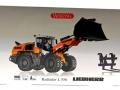 Wiking 7840 - Liebherr Radlader L556 Karton vorne
