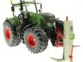 Wiking 7845 - Stertil Koni Mobile Hebebühne Traktor angehoben vorne
