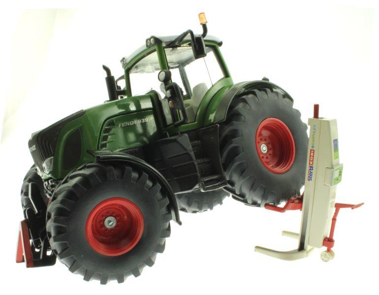 Wiking 7845 - Stertil Koni Mobile Hebebühne Traktor angehoben