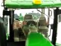 Wiking 7849 - John Deere 9620RX Raupentraktor Fahrersitz
