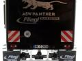 Wiking 877394 - Fliegl Abschiebewagen ASW 391 Black Panther Edition ZLF 2016 hinten