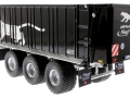 Wiking 877394 - Fliegl Abschiebewagen ASW 391 Black Panther Edition ZLF 2016 hinten links