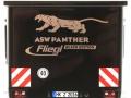 Wiking 877394 - Fliegl Abschiebewagen ASW 391 Black Panther Edition ZLF 2016 hinten nah