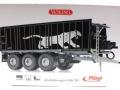 Wiking 877394 - Fliegl Abschiebewagen ASW 391 Black Panther Edition ZLF 2016 Karton vorne