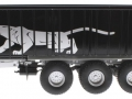 Wiking 877394 - Fliegl Abschiebewagen ASW 391 Black Panther Edition ZLF 2016 links