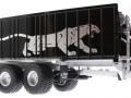 Wiking 877394 - Fliegl Abschiebewagen ASW 391 Black Panther Edition ZLF 2016 unten vorne rechts