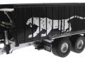 Wiking 877394 - Fliegl Abschiebewagen ASW 391 Black Panther Edition ZLF 2016 vorne links
