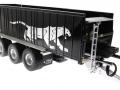 Wiking 877394 - Fliegl Abschiebewagen ASW 391 Black Panther Edition ZLF 2016 vorne rechts