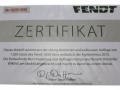 Wiking X991015080000 - Fendt 1050 Vario German Meisterwerk Agrartechnica 2015 Zertifikat
