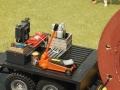 Werkzeug 1:32 auf Liku LKW Tieflader Trailer nah