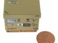 AGCO Karton auf DB Palette mit 5 Cent Stück