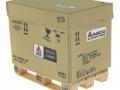 AGCO Karton auf DB Palette vorne rechts