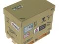 AGCO Karton auf DB Palette oben vorne links