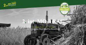 2. int. MO-TRAC Modelltraktoren Messer
