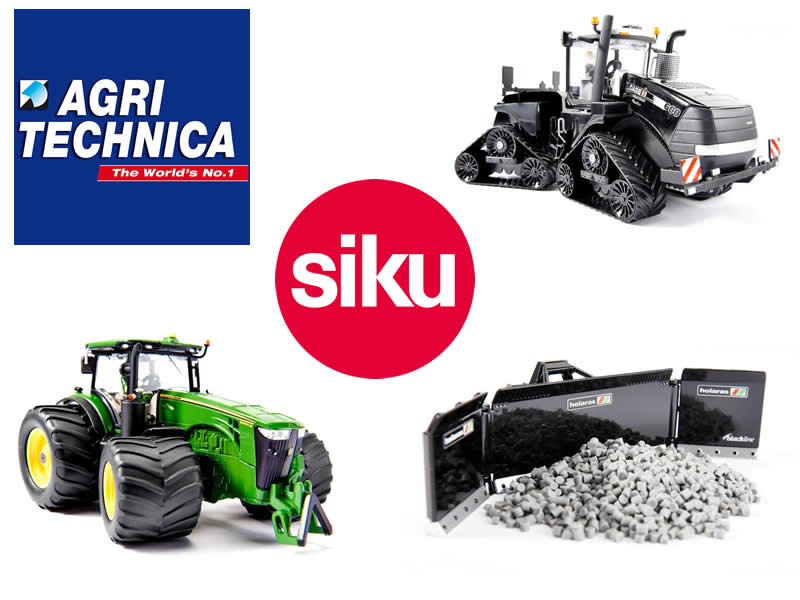 Agritechnica 2015 - Messemodelle Siku