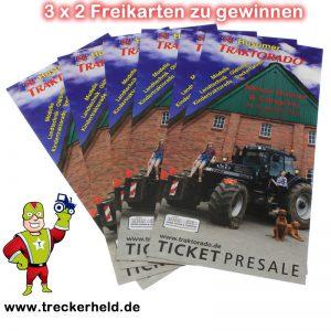Freikarten Traktorado Husum 2016