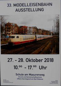 Modellbahn Ausstellung Bad Oldesloe 2018