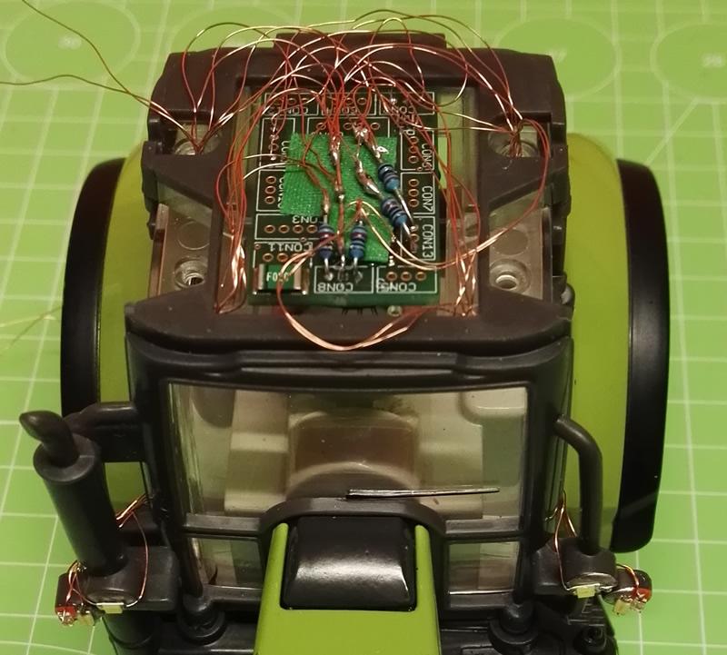 Siku Control 32 Elektronik und Umbauten
