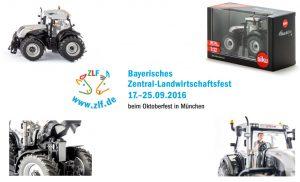 Siku Sondermodell Steyr 6230 CVT Blackline ZLF 2016