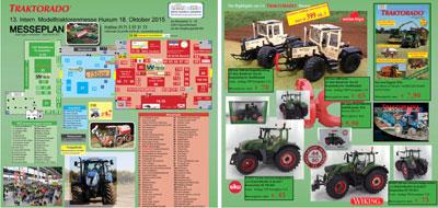 Traktorado 2015 - Hallenplan und Sondermodelle