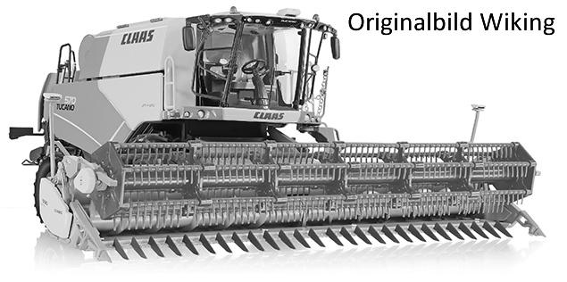 Wiking 7817 - Claas Tucano 570 Mähdrescher mit Getreidevorsatz V 930