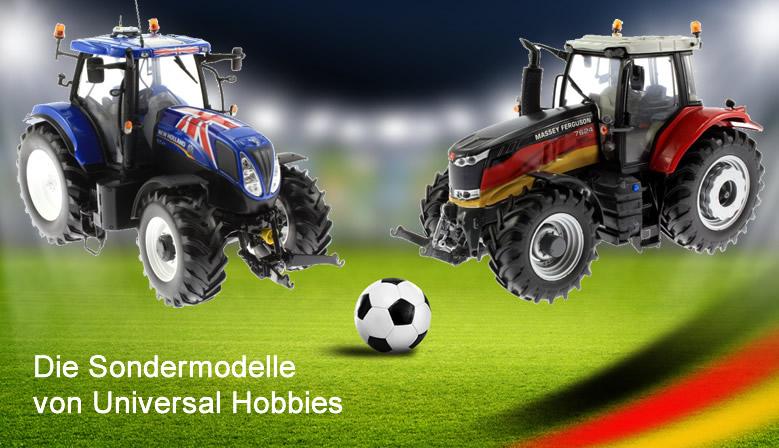 Sondermodelle von Universal Hobbies zum Fussball EM 2016