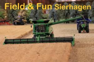 Field & Fun Sierhagen Mähdrescher