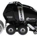 Siku 2460 Blackline - Rundballenpresse Comprima V150XC Agritechnica 2009