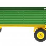 Siku 2551 - Zweiachs-Anhänger grün