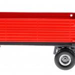 Siku 2551 - Zweiachs-Anhänger rot