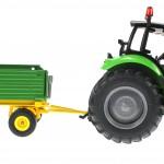 Siku 3266 und 2551 - Deutz Fahr Agrotron mit Zweiachs-Anhänger