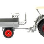 Siku 3459 und 3463 - Lanz Bulldog mit klassischem Anhänger