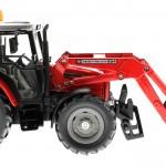 Siku 3653 - Traktor Massey Ferguson 894 mit Frontgabel