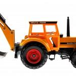 Siku 3756 - Deutz-Fahr Agrostar mit Heckbagger