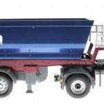 Siku 6725 - Scania mit Muldenkipper Control 32