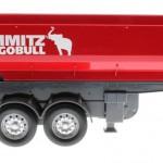 Siku 6727 - Elektronischer Kippsattelauflieger Schmitz Cargobull rot Control 32