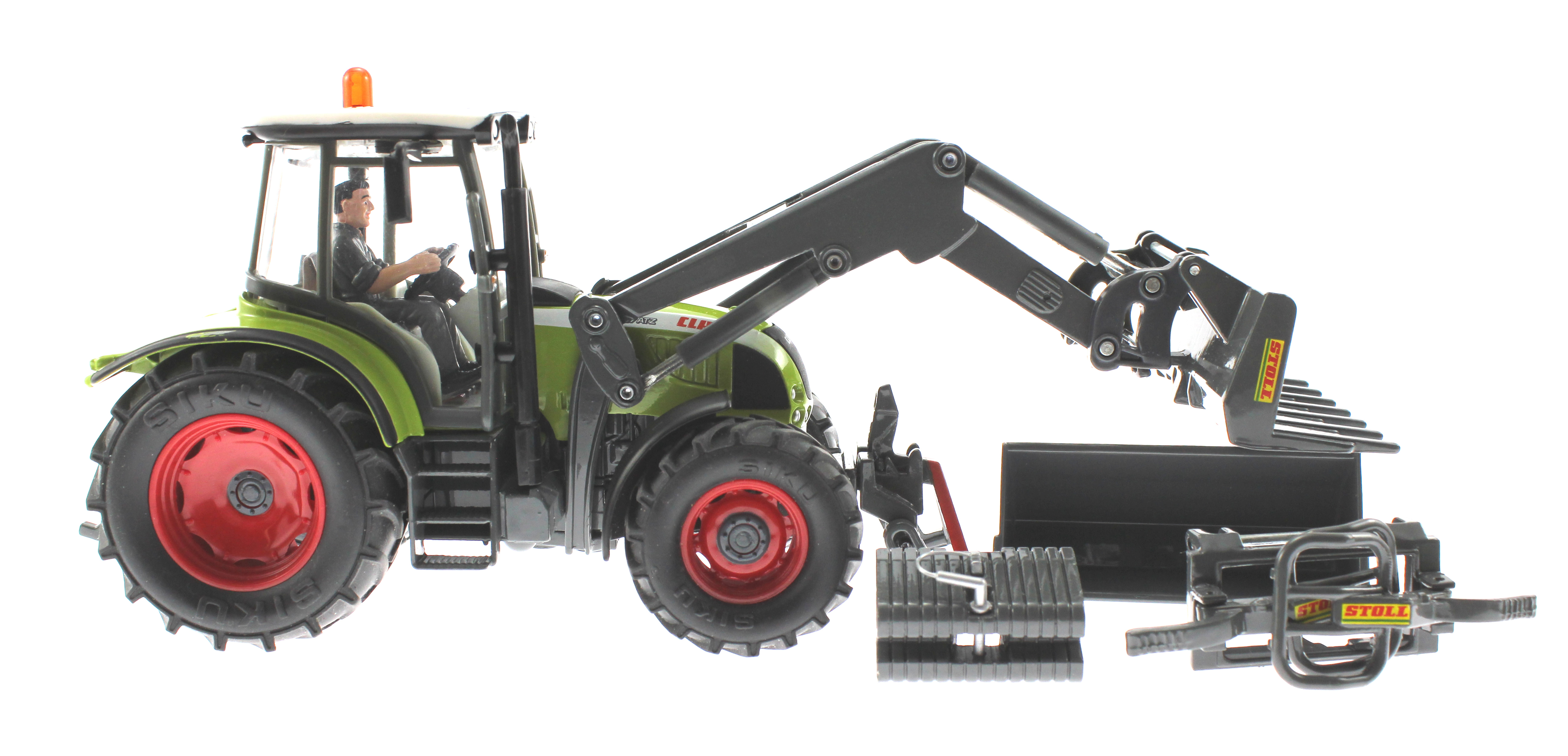 siku 8856 claas traktor set 125 jahre karstadt. Black Bedroom Furniture Sets. Home Design Ideas
