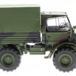weise-toys 2026 - Unimog 406 (U84) Bundeswehr Flecktarn