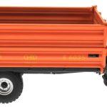 Wiking 7348AG - Einachs-Dreiseitenkipper Brantner E6035 Orange Agritechnica