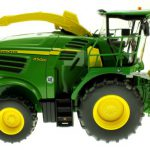 Wiking 7832 - Selbsfahrender Feldhäcksler John Deere 8500i mit Gras Pickup und Laufrad