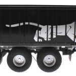 Wiking 877394 - Fliegl Abschiebewagen ASW 391 Black Panther Edition ZLF 2016