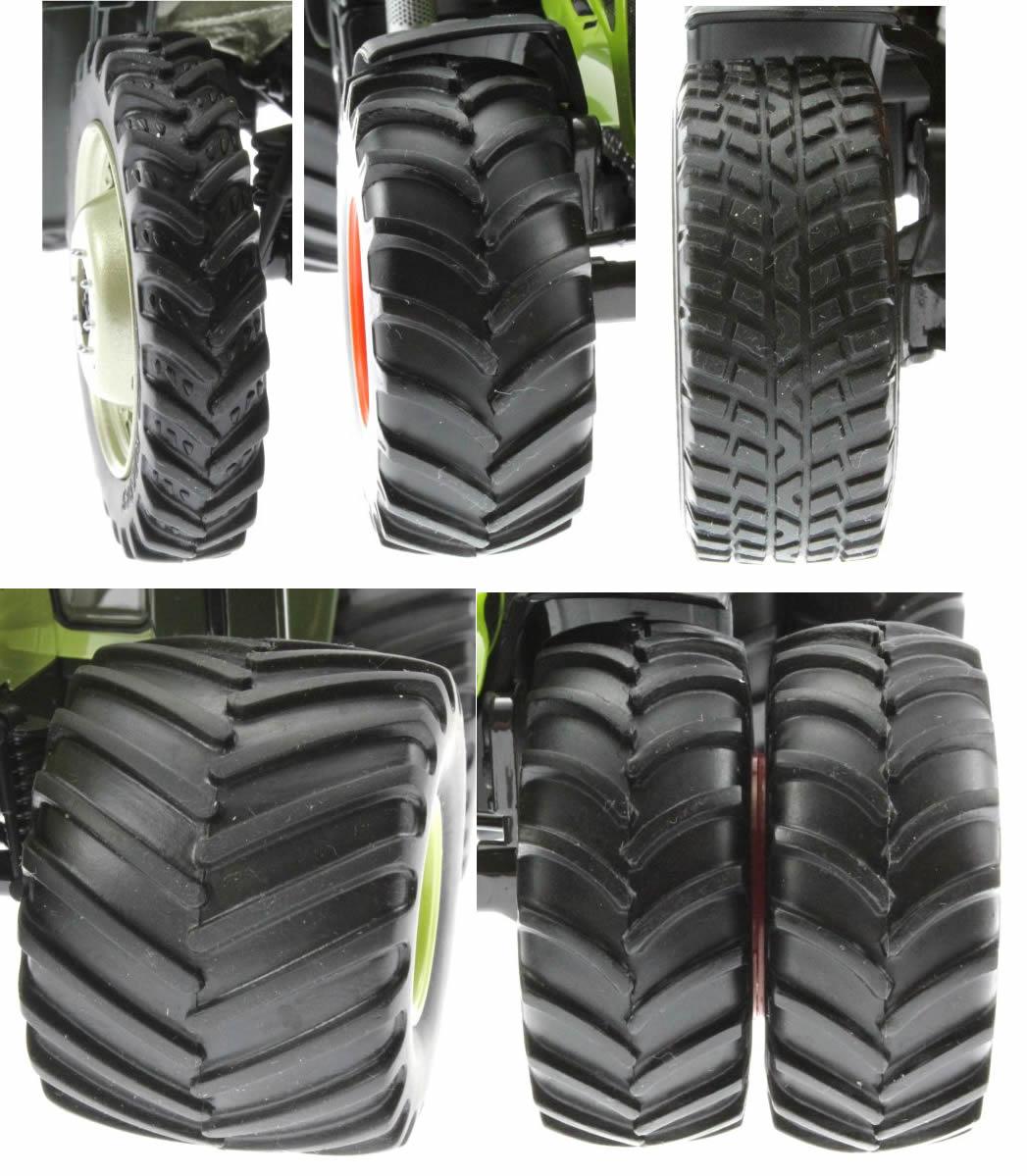 Reifenarten von Traktoren 1:32