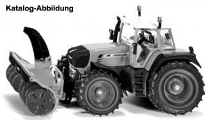 Siku 3660 - Traktor mit Schneefräse