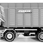 Siku 4064 - Joskin Cargo-Track mit Ladewagen (07/2015)
