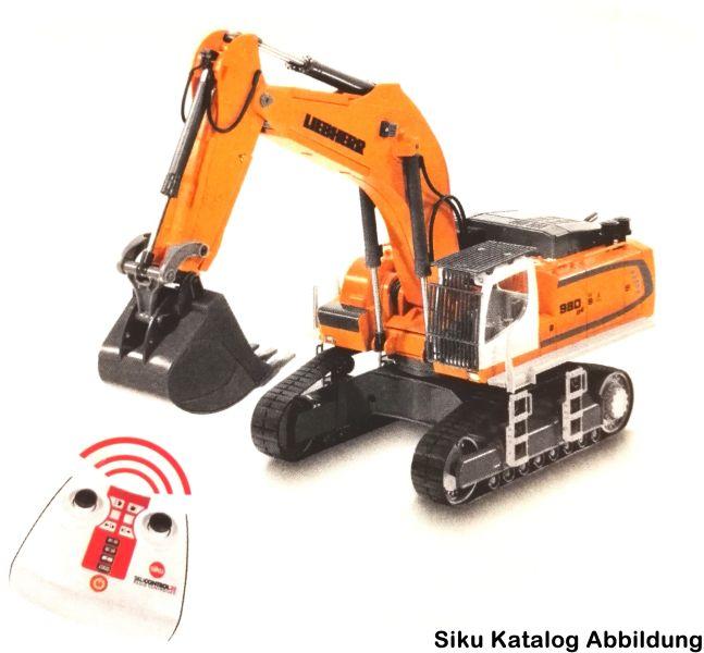 Siku 6740 - Liebherr R 980 SME Raupenbagger Control 32 Neuheit 2017