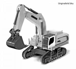 Siku 6740 - Liebherr R 980 SME Raupenbagger Control 32