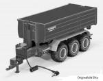 Siku 6786 - Krampe 3-Achs Hakenlift mit Mulde Control 32
