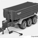 Siku 6786 - Krampe 3-Achs Hakenliftfahrgestell mit Mulde Control 32 (06/2016)