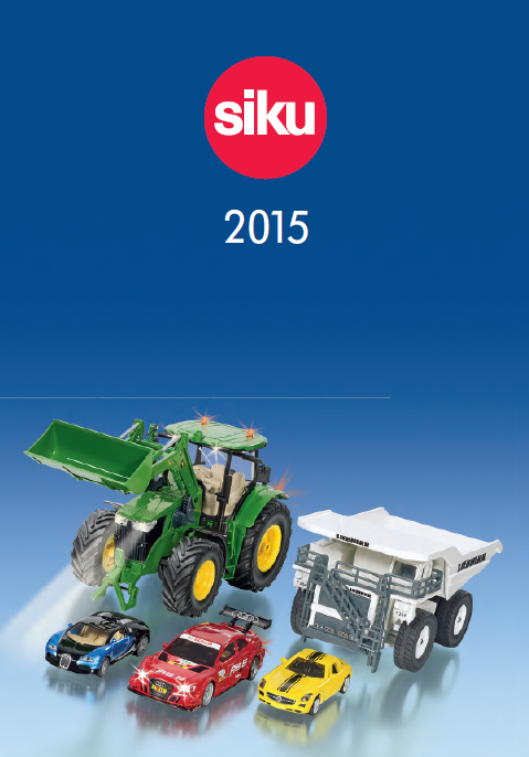 Siku Katalog 2015